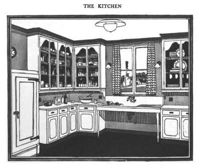 distinctive house design and decor of the twenties serialenthusiast a 1920s kitchen