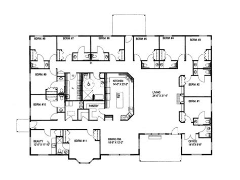 large ranch house plans smalltowndjs