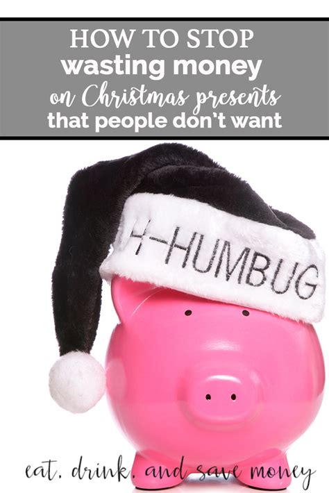how to save money on christmas presents can we stop wasting money on presents eat drink and save money