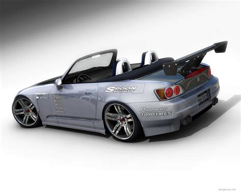 custom honda s2000 honda s2000 custom rear view by dangeruss on deviantart