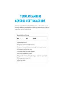 agenda for agm template annual general meeting agenda template 8 free templates