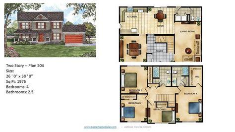 2 home plans featured modular home two plans
