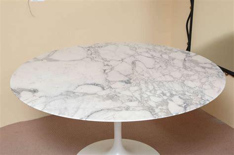 marble top saarinen dining table at 1stdibs