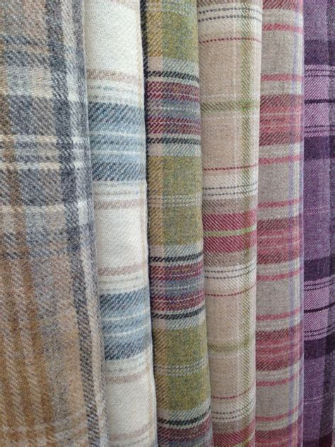 Tartan Fabrics For Upholstery - i these more muted tartans fabric by colour wool