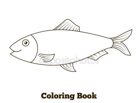 herring fish coloring page herring fish clip art sketch coloring page