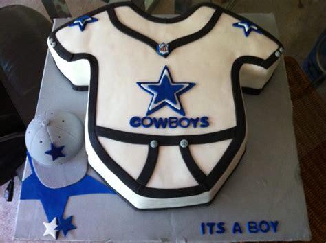 Dallas Cowboys Baby Shower Cake cakes by nancy dallas cowboy onesie