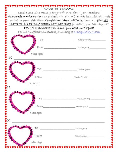 cool valentine gram template images valentine gift ideas