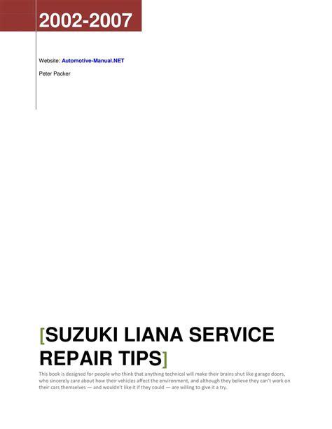 how to download repair manuals 2001 suzuki xl 7 lane departure warning 2002 suzuki xl7 repair manual download middnanti