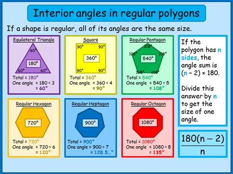 12 Sided Polygon Interior Angles Interior Angles Of Regular Polygons A Plus Topper