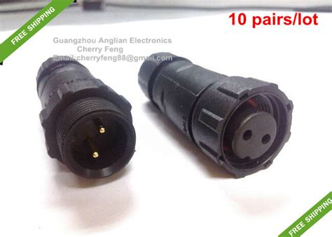 Outdoor Lighting Connectors Aliexpress Buy Free Shipping Led Lighting Outdoor Ip68 2 Pin Waterproof Cable Connector