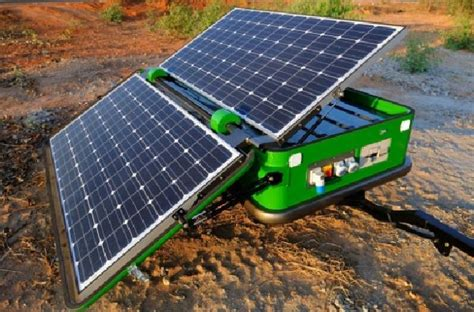 Lu Emergency Solar Cell solarator launched to meet emergency power requirements