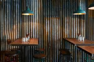 Kitchen Backsplash Tin Barnyard Brinkworth Restaurant Amp Bar Design
