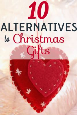 10 alternatives to christmas gifts