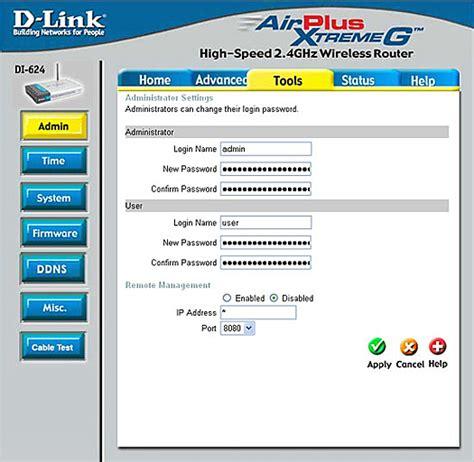 reset verizon d link router d link router access code