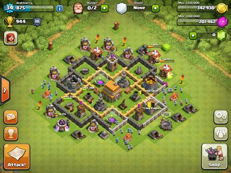 top 10 clash of clans town hall 6 trophy base layouts clash of clans town hall 6 trophy base 10 chainimage