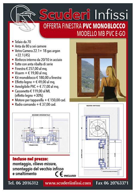 costo persiane pvc offerte finestre in pvc scuderi infissi