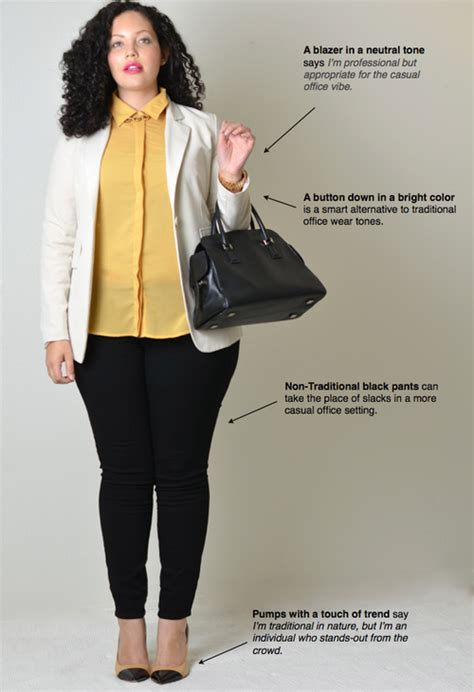 how to dress professional overweight woman interview ideas