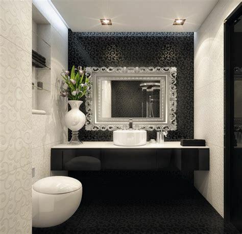 badezimmer backsplashes 52 fotos badezimmer in schwarz und wei 223