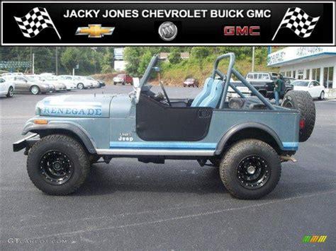 metallic blue jeep 1982 slate blue metallic jeep cj7 renegade 4x4 32846674
