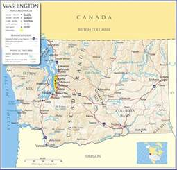 washington map washington state map washington state