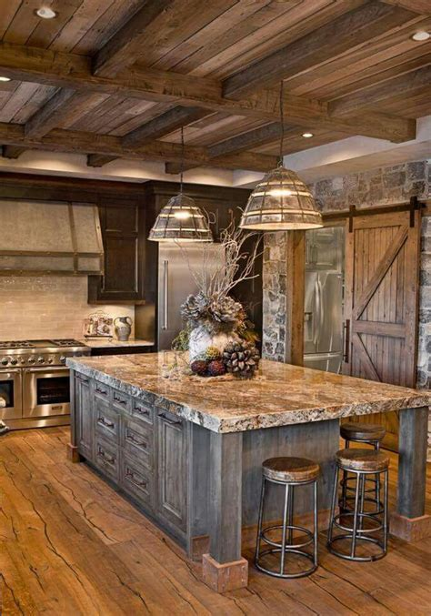 moose home decor inside a rustic modern kitchen modern house norma budden