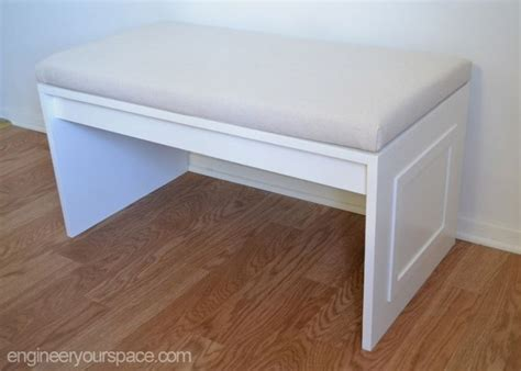no sew bench cushion isabelle larue is on our blog with a no sew bench cushion
