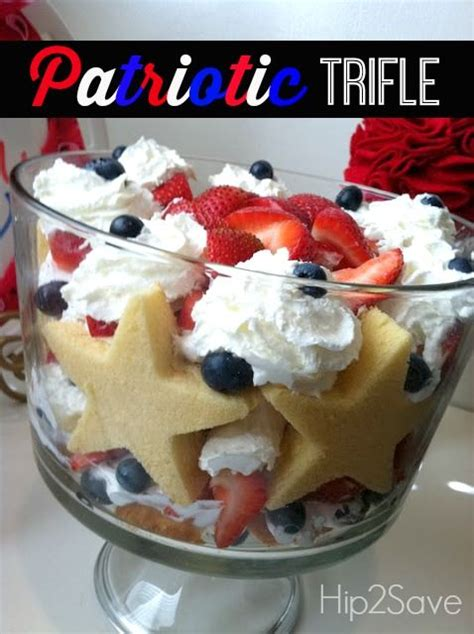 patriotic trifle easy 4th of july dessert 4th of july desserts bakeries and july 4th