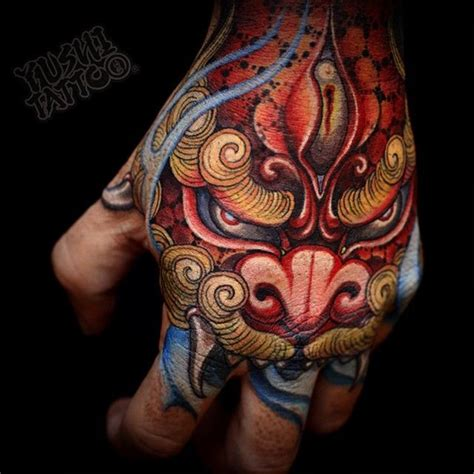 tattoo japanese hand done by yushi tattooist based in seoul s korea