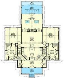 ranch house plans with 2 master suites plan 58566sv dual master suites mountain vacations
