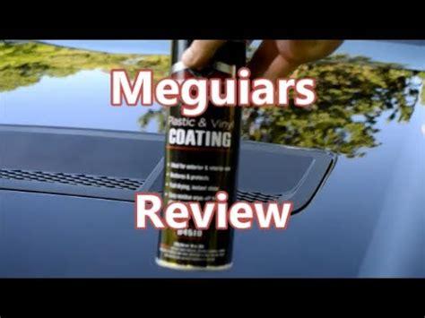sonc synopsis  meguiars aerosol spray dressing