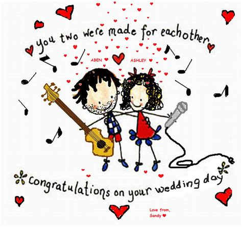 Wedding Congratulation In German by Congratulations On Your Wedding Day Quotes Quotesgram
