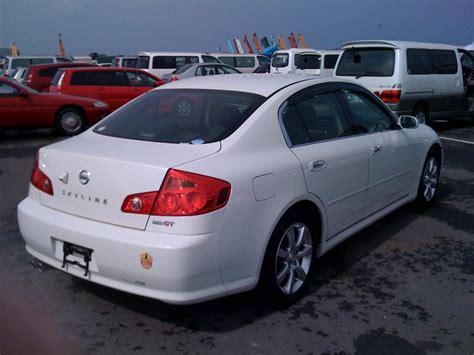 nissan skyline 2006 2006 nissan skyline v35 350gt premium sedan prestige