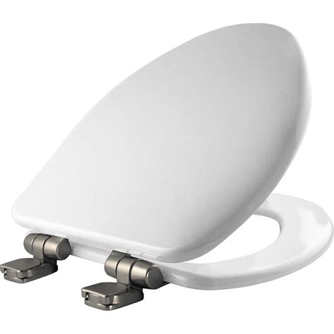 bemis toilet bemis elongated closed front toilet seat in