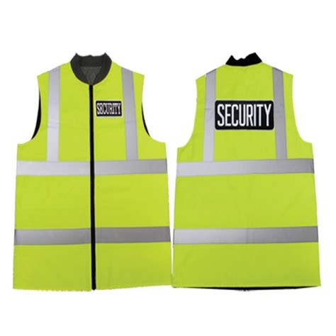 security vest reflective safety vest with security id
