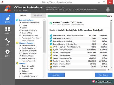 ccleaner key 5 36 download ccleaner 5 full key miễn ph 237 mới nhất phần mềm