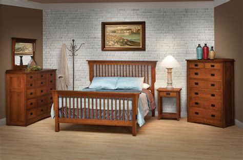 amish bedroom amish mission full bedroom group 1 by daniel s amish