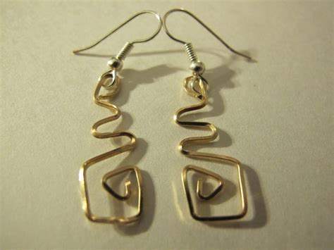 earring ideas jewelry s designs handmade wire jewelry gold wire wrapped