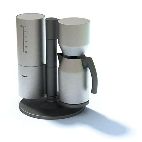 Drip Coffee Maker drip coffee maker 3d model cgtrader