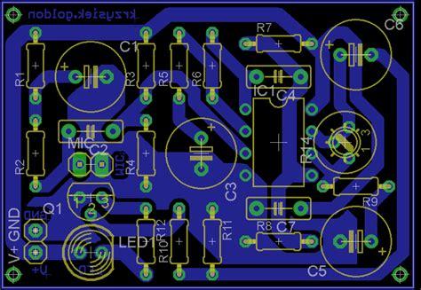 dioda w rytm muzyki migająca dioda w rytm muzyki za pomocą mikrofonu elektroda pl