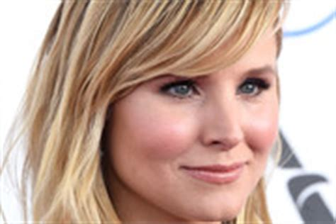 kristen bell medium straight cut edgy chic kristen bell kristen bell medium layered cut medium layered cut