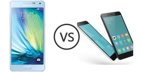 Hp Samsung Galaxy Note A5 perbandingan bagus mana hp samsung galaxy a5 vs xiaomi redmi note 2 segi harga kamera dan