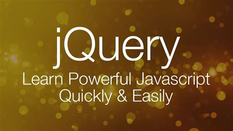 tutorial one page website jquery jquery tutorial 1 jquery tutorial for beginners youtube
