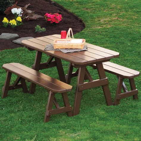 picnic table plans with separate benches picnic tables with separate benches 28 images pin by