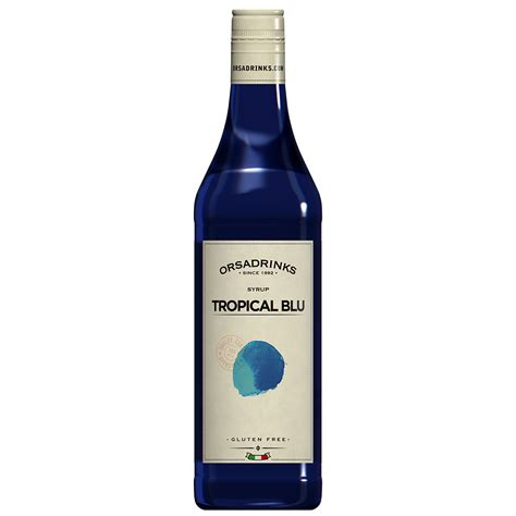 Tropicana Syrup tropical blue syrup odk