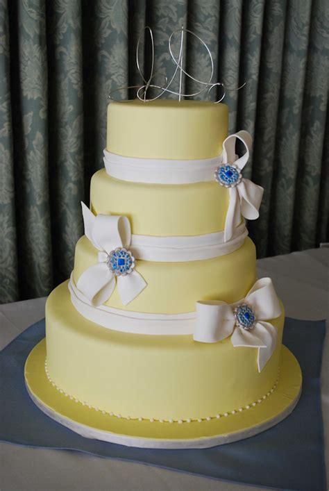 Wedding Cake Yellow by Yellow Wedding Cakes Bitsy