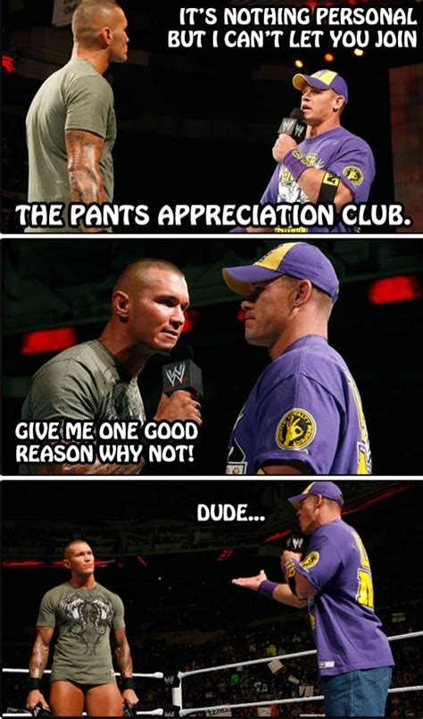 Randy Orton Meme - lol john cena randy orton john cena pinterest