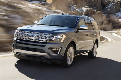 New Ford 2018 by 2018 Ford Expedition Revealed Up To 136kg Lighter