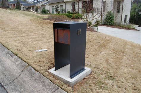 contemporary mailboxes 26 best modern mailboxes images on modern
