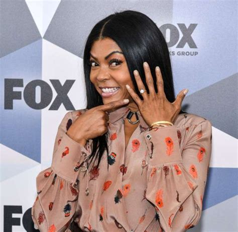 hollywood actress taraji p henson shows off her