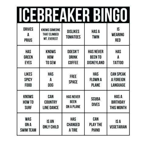 breaker bingo template bingo program template human bingo template breaker